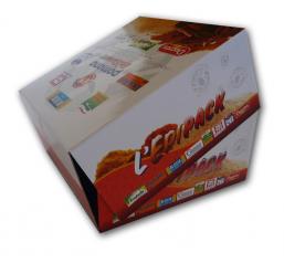 Boite avec couvercle en carton rembord boite charni re - Boite en carton recycle ...