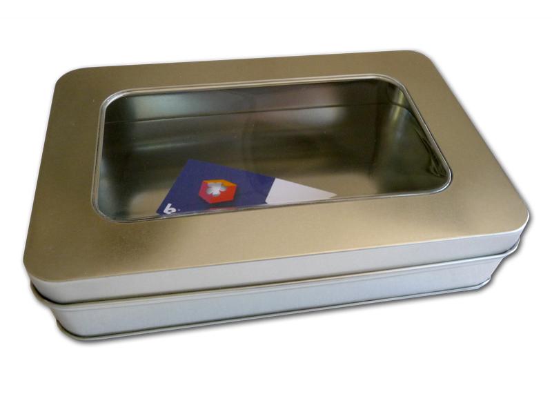 boite m233tal rectangulaire avec quotfen234trequot metal boites