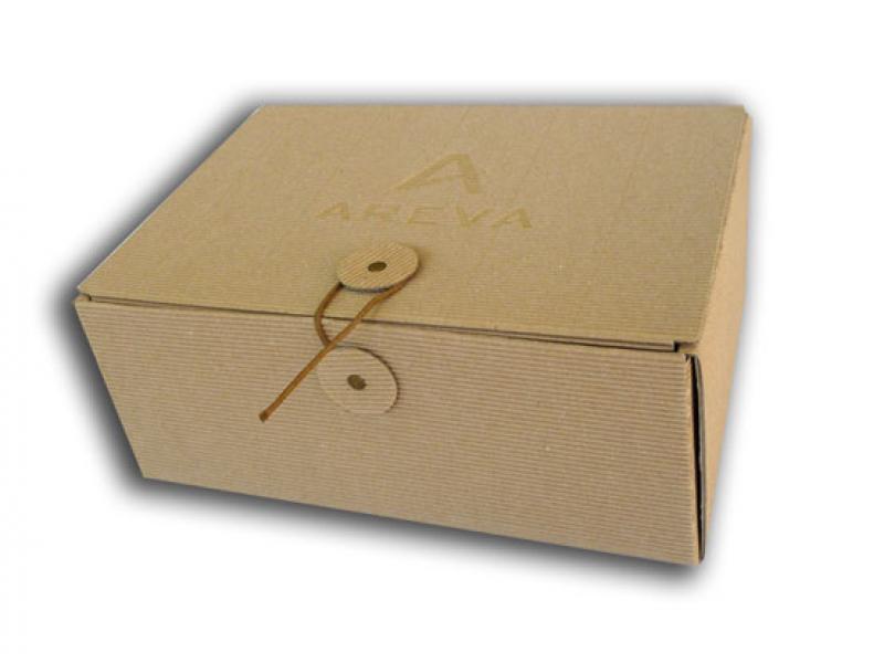coffret de pr sentation format a5 en carton cannelure cartons couch recycl rembord. Black Bedroom Furniture Sets. Home Design Ideas