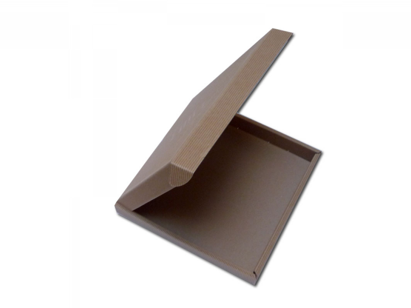 Boite de pr sentation en carton cannelure cartons - Boite en carton recycle ...